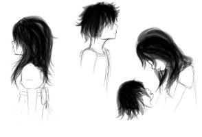sketches- profile by Junko-Ishi