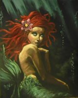 Ariel my painting by cliford417