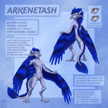 Reference: Arkenetash by LauralienArt