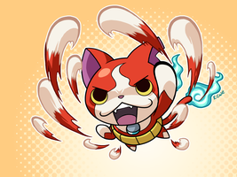 Jibanyan by rongs1234