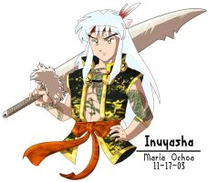 Inuyasha by agra19