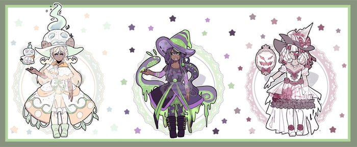 Halloween Dessert Witches(Closed) by SimonAdventure