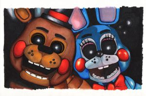 Five Nights at Freddy's by Shades-ofGray
