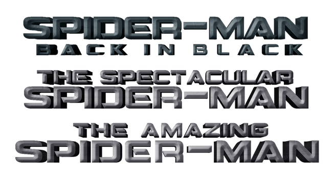 Spider-Man Logos Unused by AngelbfxD