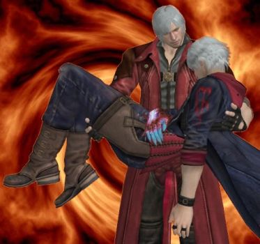 Dante x Nero - I'll catch you by Tigerfussel