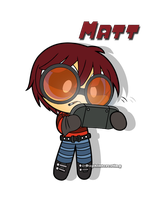 Crossover - Powerpuff Matt with Goggles by DaphInteresting