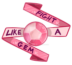 Fight Like a Gem by DarkMagic-Sweetheart
