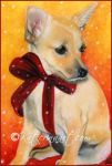 Christmas Puppy by Katerina-Art