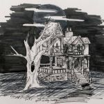 Haunted house - Day 7 by Spirit-Aisling