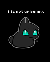 i iz not ur bunny 2 by zacpfaff
