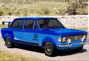 Fiat 128 -1972 by dilelis
