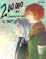 200k congrats for Tato by louten
