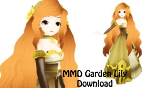 MMD Model Garden Lily Download by SachiShirakawa
