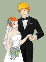 IchiHime Wedding by KS-99