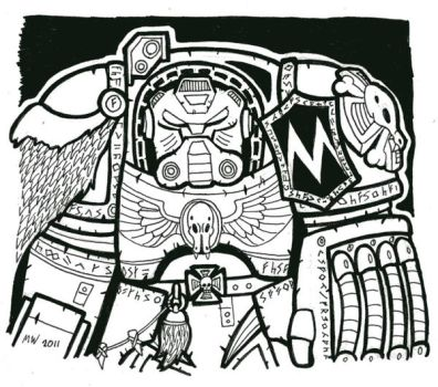 Wolf Guard Terminator by wibblethefish