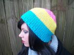 Pansexual Pride Flag Beanie by Branxnia