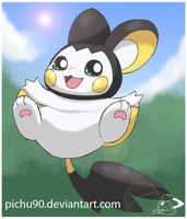 A Wild Emolga Appeared by pichu90