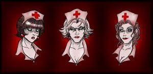 Demon Nurses by Kayzig