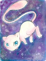 Mew Pokemon by AndrewLaFish-Arts