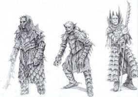 Orcs by eoghankerrigan
