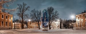 New Year in Moscow by Tori-Tolkacheva