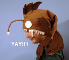 TJ's Anglerfish Hat by WebDragon
