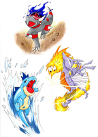 + shinys are the ones + by Dragounette