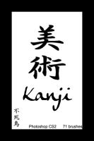 Kanji Brushes by TheHalcyon