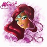Winx Club fanart: Layla/Aisha Harmonix by galia-and-kitty