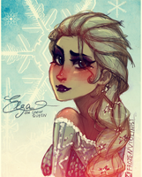 Frozen: Elsa the Snow Queen by ZARINAABZALILOVA