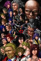 Kingdom Hearts Legacy by IzanagiDreams