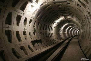 Metro-tunnel by witam