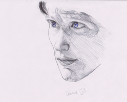 Eleventh Doctor - Sketch by Anouk-Jill