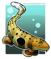 Shark Week: Epaulette Shark by Robo-Shark
