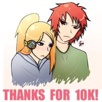THANKS FOR 10K :SasoDei: by GaarasBabe