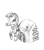 Rarity in Steampunk/Victorian by KittyKitsune13