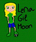 Lena Gil Moon by phinbella2012