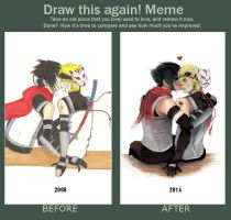 Meme: Before And After by Kira108