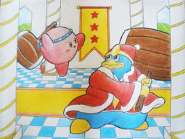 Kirby vs The King by AgentLym