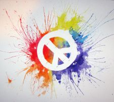 Painted Peace by Gman09