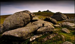 Tors loom over all parts of the land by LordLJCornellPhotos