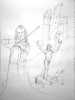 The Fiddler Moves Sketch 2 by mr-macd