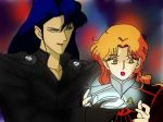 Melkor and Mairon_Sailor moon crossover by EPH-SAN1634