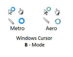 Windows Cursor (B - Mode) by AnBlues