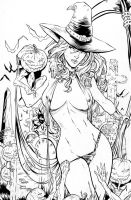 Lady Death - M.Debalfo - Travinapple - Inked by Travinapple
