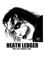 DSS No. 25 - Heath Ledger by gothicathedral