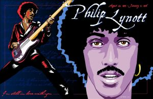 Phil Lynott by jadyess