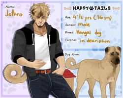Happy Tails: Jethro by MestariTheMoth