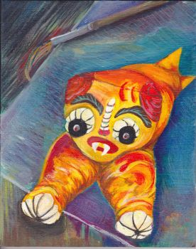 Wiskers the Bloody Cat by sos1989