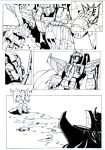 Starscreams Realm page 3 inkted by shatteredglasscomic